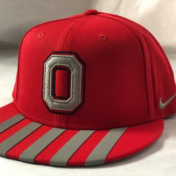 da458cd2462 Nike True ALT C Ohio State 1 Flex Fit Hat Cap